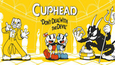 Video Game Cuphead Silk poster wallpaper 24 X 13 inches