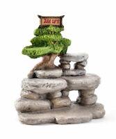 Miniature Dollhouse FAIRY GARDEN ~ ZEN LIFE Buddha Backdrop Display Platform