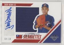 2020 Panini USA Baseball Stars & Stripes /18 Chen-Hsun Lee #CTJ-CL Auto