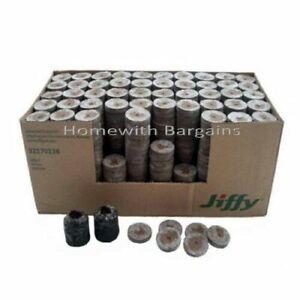 Jiffy 7 Peat Pellets 33 x 43mm Propagation Plug Seed Cuttings Hydroponic Organic