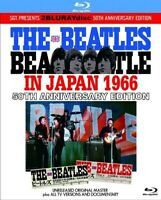 The Beatles In Japan 50th Anniversary Edition Blu-ray 2 Discs Case Set SGT. F/S