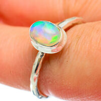 Ethiopian Opal 925 Sterling Silver Ring Size 9 Ana Co Jewelry R48142F