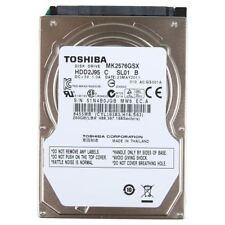 "Toshiba 2.5"" 250gb Internal Hard Disk MK2576GSX SATA 3GB/s 5400rpm"