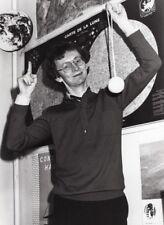 Journalist Laurent Broomhead Planete Bleue TV Program old Press Photo 1983