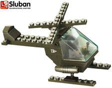 Sluban Toy Building Bricks Blocks Army Military Attack Battle Helicopter B5700
