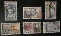 Lot timbres France oblitérés