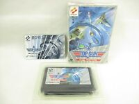 TOP GUN Dual Fighters Item Ref/ccc Famicom Nintendo Konami Game fc