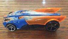Hot Wheels Buzz Bomb Blue & Orange