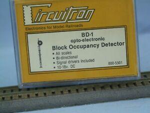 Circuitron BD-1 Block occupancy Detector