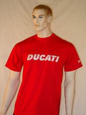 Camiseta Motocicleta Ducati Italiano (nueva 100% algodón) Moto/Bicicleta/Biker