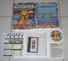 Commodore 64 - 128 CBM C64 FOOTBAL MANAGER WORLD CUP EDITION 1990 Nuovo