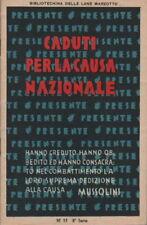 MILITARIA_BERTA_PEPE_GIORDANI_MARTINI_DELPIANO_PUBBLICITARIA MARZOTTO