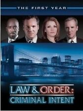 Law And Order - Criminal Intent : Season 1 (DVD, 2005, 6-Disc Set) Ex Rental.
