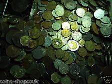 1kg One Kilo of Mixed British European World Coins Kiloware Bulk Lot Collection