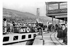 pt4419 - Cumbria , Windermere SY Swift at Lake Side Pier , Yorkshire - photo 6x4