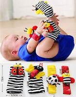 LAMAZE RATTLE SET / BABY SENSORY TOYS FOOTFINDER SOCKS / WRIST RATTLE BRACELET