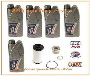 Audi OEM DSG  ATF Transmission Dual Clutch Srvice Kit A3,S3 & TT 06-13 G052182A2