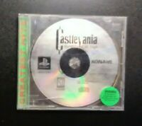 Castlevania Symphony Night Playstation 1 PS1 Greatest Hits Video Game Tested