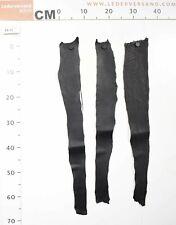 Neues Angebot3 Häute echtes Fischleder Lachsleder schwarz aus Island 0,5-0,7 mm #fa12