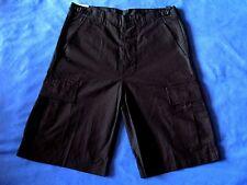 Fox Endurace Mens Rip Stop Military Style Shorts Sz Small Black BDU