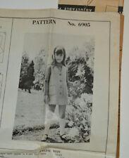 sewing pattern pinafore dress button up