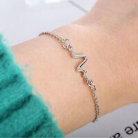 Medical ECG Bracelet Stethoscope Heartbeat Bracelet For Women Nurse Doctor S