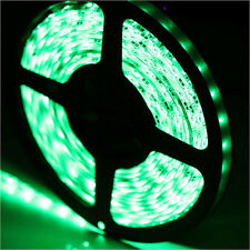 5M 16.4ft SMD 3528 Waterproof 300 LED Flexible Strip Light Lamp Tape DC12V Green