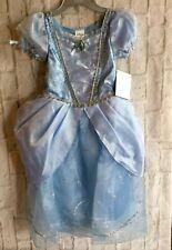 Disney Store  Princess CINDERELLA Party Halloween Costume Dress Girls 5/6 NWT