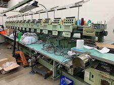 Tajima Embroidery Machine 12 Head / 9 colors / Used / Usb