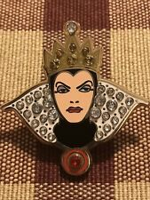 Evil Queen From Snow White And The Seven Dwarfs Jeweled Pin - Disney Villains