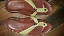 Donald J Pliner Wedge Flip Flip Slides Sandals - Size 8.5