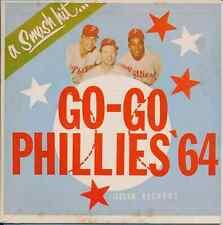 The Umpires Go Go Philadelphia Phillies 45 Hear It 1964 Novelty baseball record