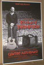 RICHARD THOMPSON Mega-Rare 1999 Concert Gig Poster YBOR CITY, Florida & Linda