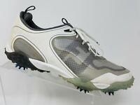 Footjoy Freestyle Mens Golf Shoe Size 11.5 M White Lace Up 57330