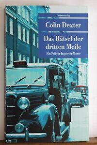 Das Rätsel der dritten Meile von Colin Dexter (2019, Taschenbuch)