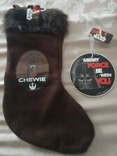 Star Wars Chewbacca stocking And Plaque