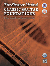 The Shearer Method-CLASSIC GUITAR FOUNDATIONS-MUSIC BOOK/CD/DVD LEVEL 1-NEW-SALE