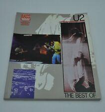 U2 the best of.. Bass Tab book.
