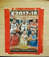 Panini 1 Tüte NBA 2017 2018 Basketball 17 18 Bustine Packet Sobre Pochette Pack