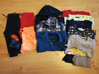VGC 2-3y Boys Clothing Bundle T-shirts Joggers Jumpers Shirts Pyjamas (10)