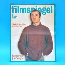 DDR Filmspiegel 8/1985 Ulrich Mühe Kurt Böwe Jon Voight Dolly Haas U