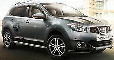 Nissan Qashqai 2010 on Side Styling Chrome Door Strips New + Genuine KE760JD005
