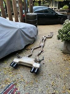 BMW F80 M3 Competition Stock Factory Exhaust Catback