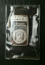 5oz Silver Apmex Bar in Plastic