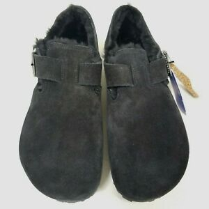 Birkenstock London Shearling Black Regular- New Without Box - Select Size