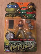 Playmates Teenage Mutant Ninja Turtles TMNT 2003 April O'Neil Mousers - New