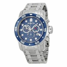 Invicta Pro Diver 0070 48mm Stainless Steel Case Stainless Steel Bracelet Strap
