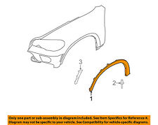 BMW OEM 07-13 X5-Front Fender Flare Wheel Well Arch Molding Right 51777158428
