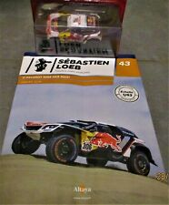 Altaya Sébastien LOEB 1/43 N°43: Peugeot 3008 DKR Maxi (Dakar 2018) neuf