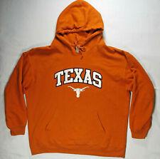 Boys Texas Longhornes Mens Sweater Hoodie Sweatshirt XL Burnt Orange Sport UT